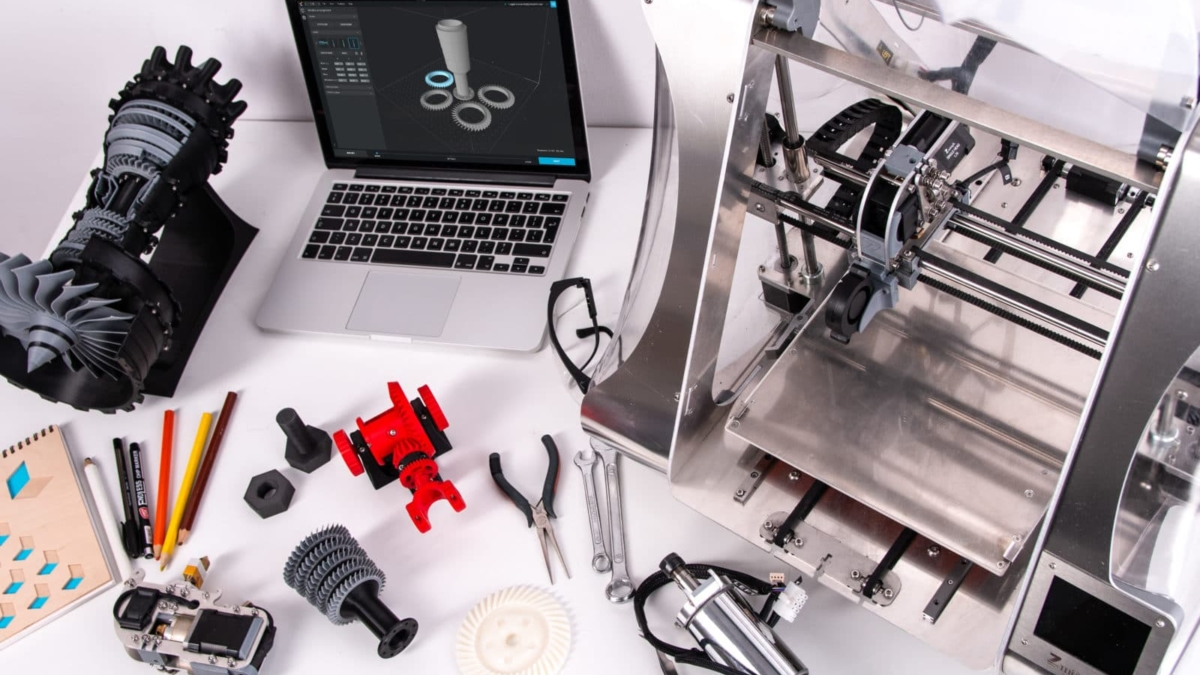 Photo by ZMorph Multitool 3D Printer